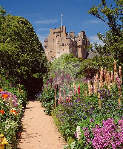 Scotland, Aberdeenshire,Crathes Castle.