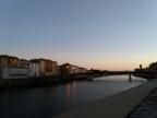Unusual evening in Pisa