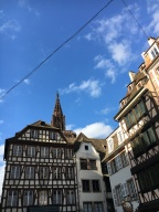 Unusual day in Strasbourg